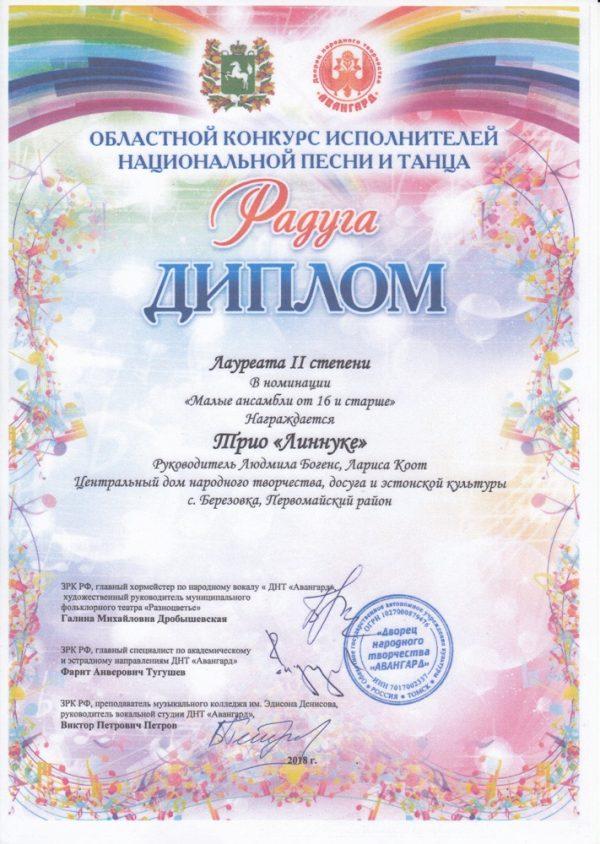 Областной конкурс исполнителей национальной песни и танца